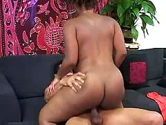 Black vixen hammered from the rear